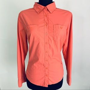 Lucy Orange Walkabout Button Down Shirt